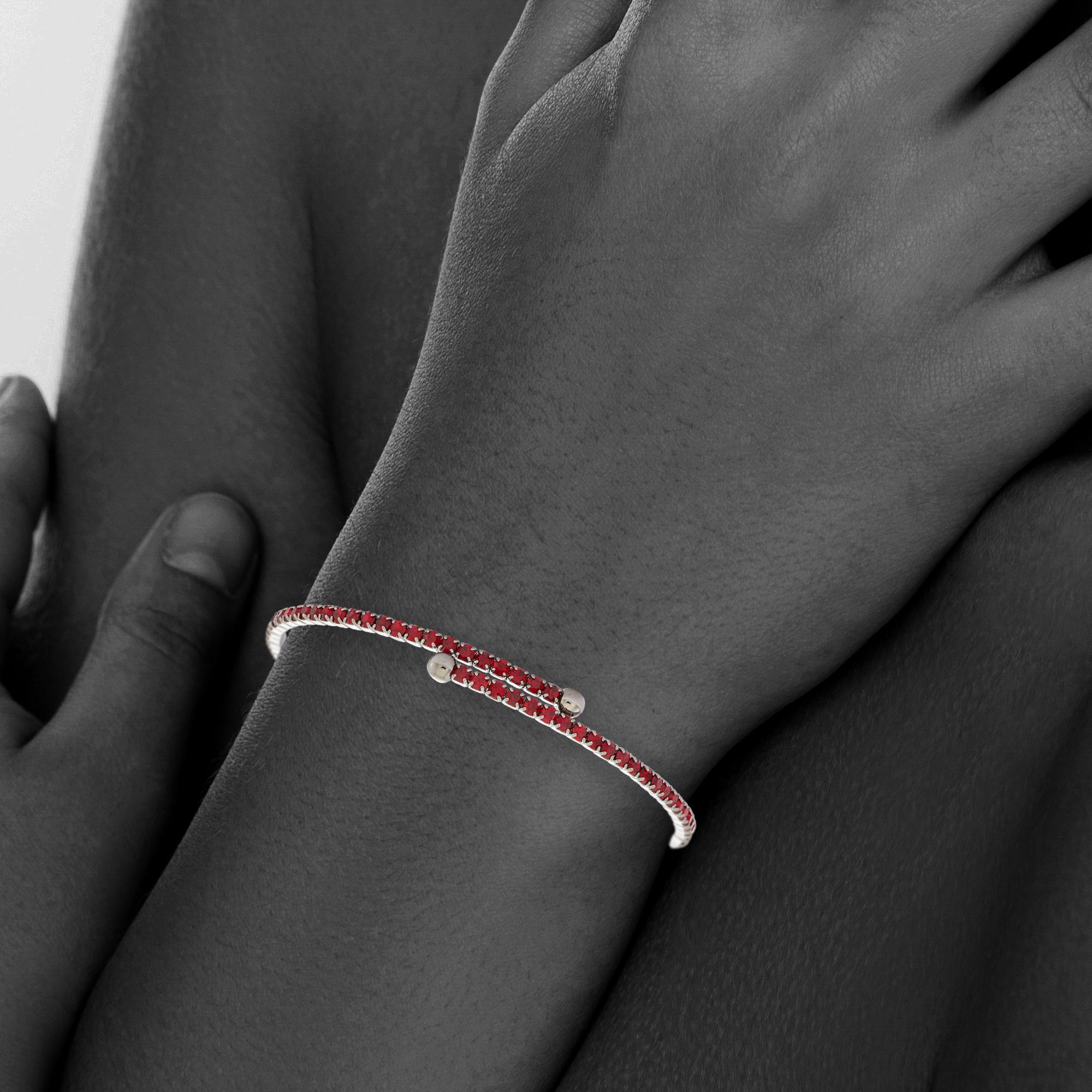 Womens-Ladies-Fashion-Accessories-Jewelry-Black-Rhodium-Plated-Bangle-Bracelet thumbnail 46