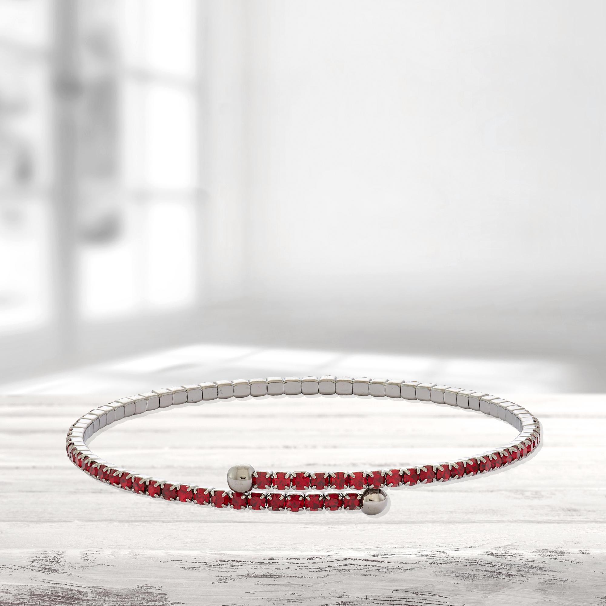 Womens-Ladies-Fashion-Accessories-Jewelry-Black-Rhodium-Plated-Bangle-Bracelet thumbnail 49